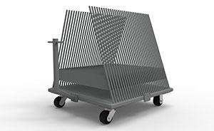 Steel remnant cart
